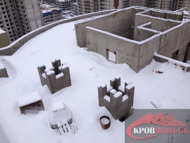 Ппр при очистке снега с крыши